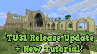 Minecraft Xbox 360 / PS3 - TU31 Release Update + New Tutorial World