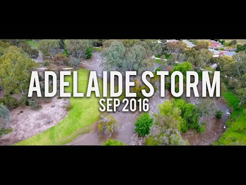 Adelaide Storm September 2016 Drone Footage