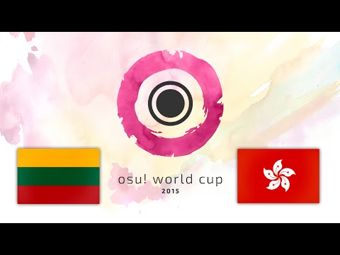 Osu! World Cup 2015 Group Stage: Lithuania vs Hong Kong