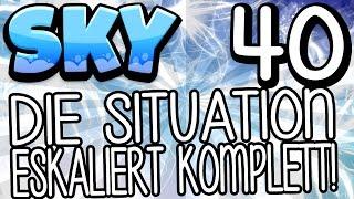 🌤️ DIE SITUATION ESKALIERT KOMPLETT! 🌤️ - MINECRAFT SKY #40 | GAMERSTIME