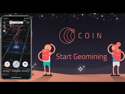 The Coin App Review | Collect Coins Anywhere You Go | Completely Passive |  Start GeoMining Today