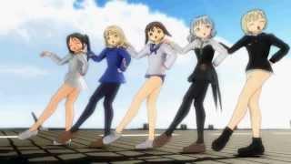 [MMD] Sentai Slender Legs / 美脚戦隊スレンダー [Strike Witches / ストライクウィッチーズ]