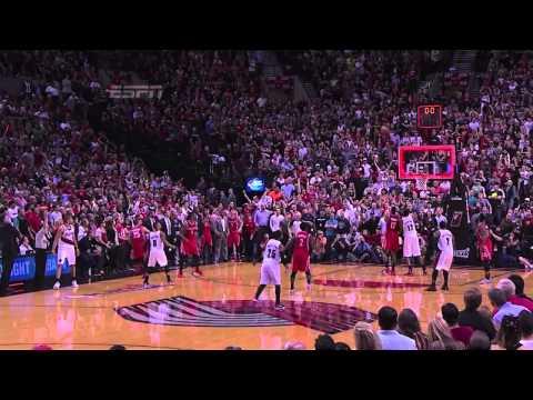 Damian Lillard's Gamewinning SPLASH vs Houston Rockets (with Chris Smoove Music)