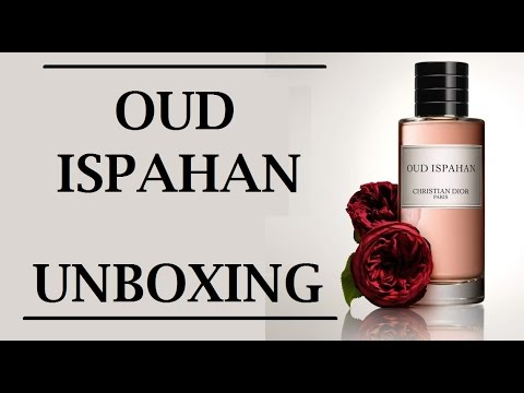 455706f0 Unboxing of OUD ISPAHAN Perfume by Christian Dior