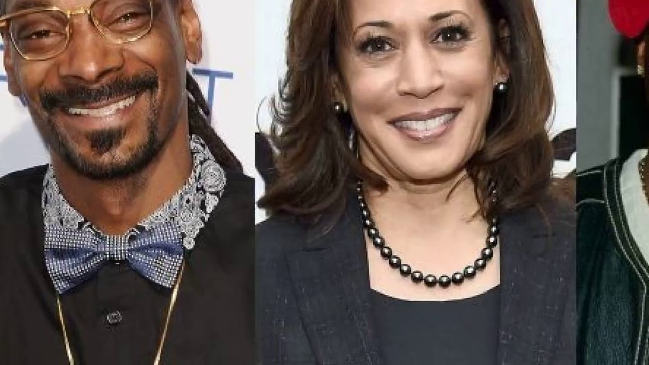 Kamala Harris says she listened to Snoop Dogg, Tupac while smoking weed in ...