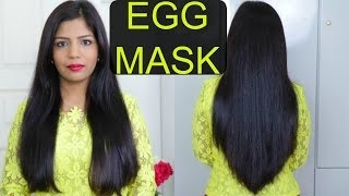 How To Make EGG Hair Mask For Hair Growth & Dry Damaged Hair | SuperPrincessjo