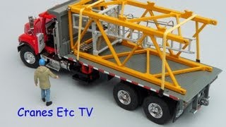 Sword Mack Granite Flatbed Truck by Cranes Etc TV