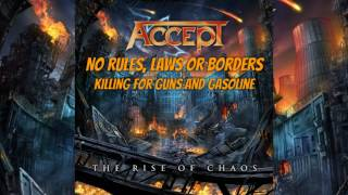 Accept - The Rise Of Chaos (LYRICS VIDEO)
