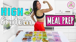 HIGH PROTEIN MEAL PREP!