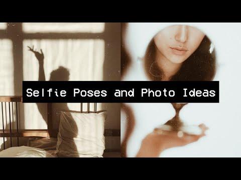 Aesthetic Selfie Poses