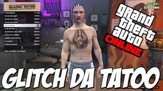 GLITCH DA TATOO - GTA V TRAJE COM ESTAMPA DE TATUAGEM  - GTA 5 ONLINE