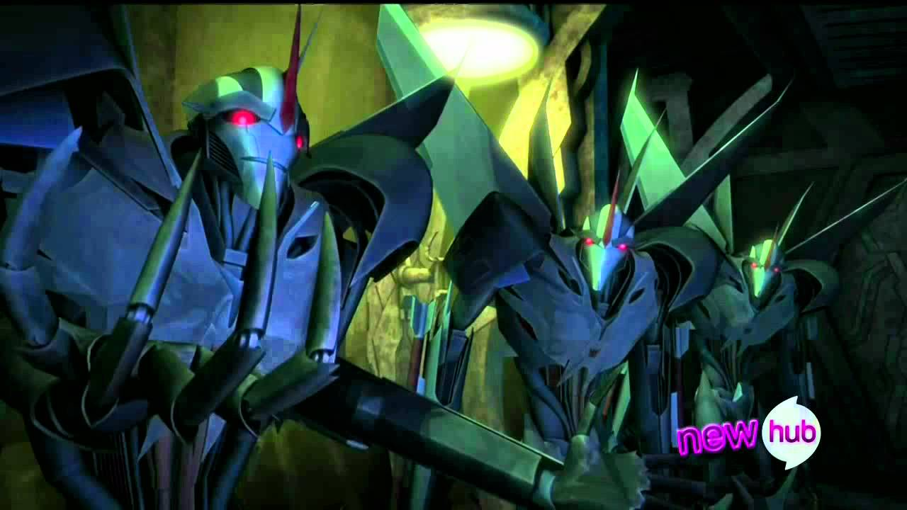 Starscream Transformers Animated