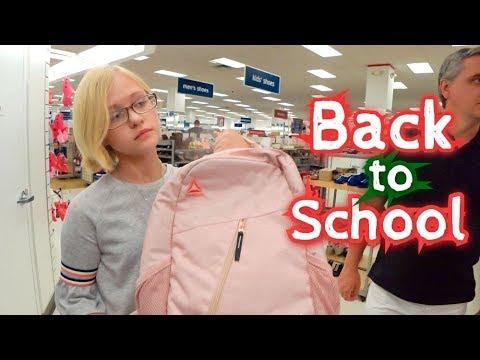 БЭК ту СКУЛ 2019 в Америке ПОКУПАЕМ РЮКЗАКИ и ОБУВЬ Покупки к школе для американских учеников
