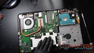 Laptop Repair - Toshiba Satellite L55 Battery Replacement