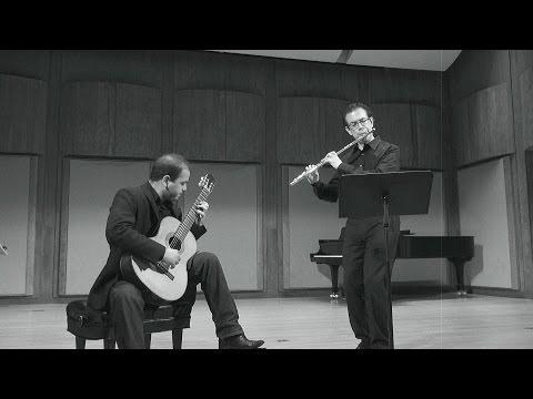 Astor Piazzolla - Bordel 1900 for Flute & Guitar - Marco Granados, Felippe Santos