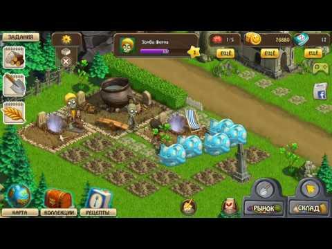Зомби Ферма играть онлайн в Зомби Ферму - игра Зомби Мания