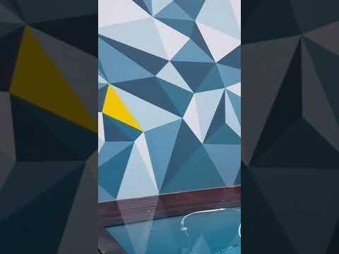 Fresque Murale En Trompe Trompe L œil En Peinture 3d