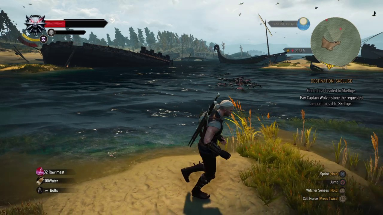 Witcher 3: Best Farming Ground - Drowners Immediate Respawn