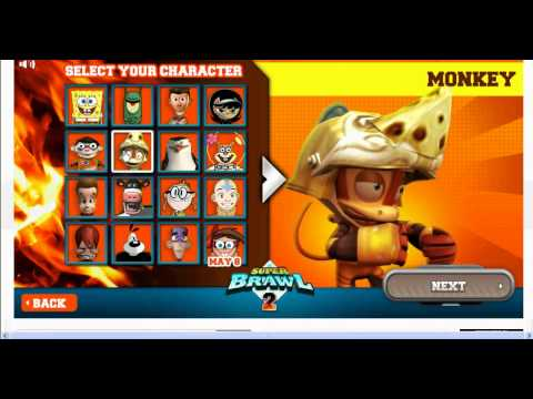 all characters from super brawl 2
