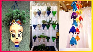 50 Ways to Reuse and Recycle Plastic Bottles | Garden & Craft
