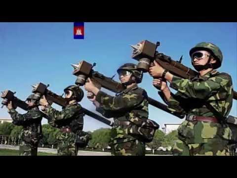 Cambodian military maneuvers 2016 แสนยานุภาพ กองทัพกัมพูชา
