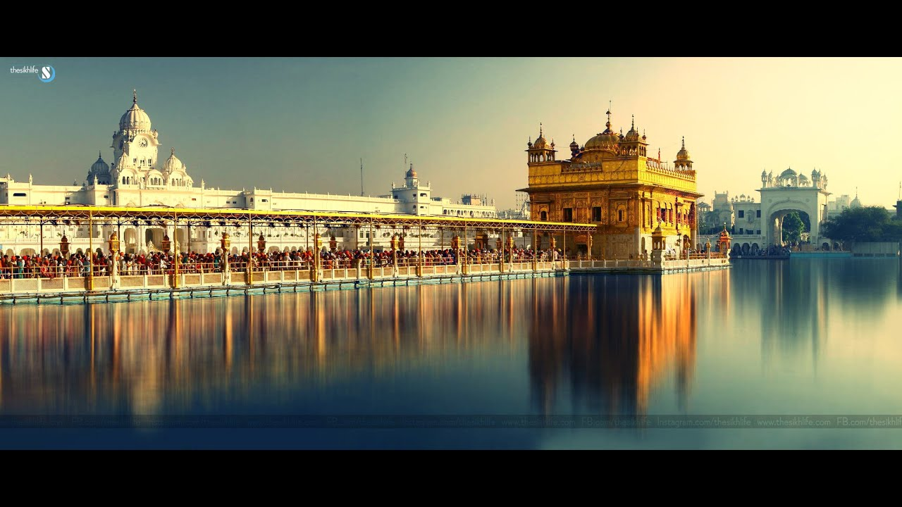 Harmandir sahib parikarma view full hd amritsar youtube - Golden temple images hd download ...