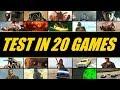 GTX 1050 Ti vs. GTX 1060 vs. GTX 1070 vs. GTX 1080 (Test in 20 Games)