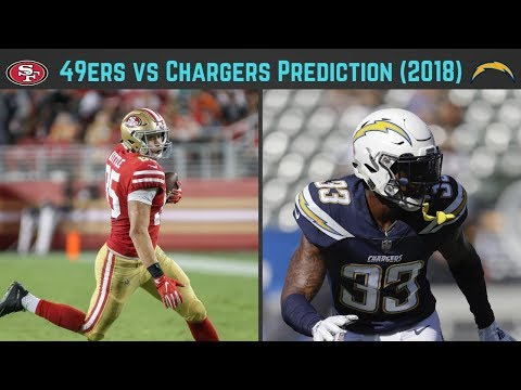49ers vs Chargers Predictions (Week 4, 2018)