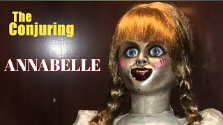 ANNABELLE  life size replica doll The Conjuring