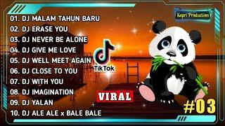 DJ TIK TOK TERBARU 2020 - DJ MALAM TAHUN BARU 🎶    REMIX FULL BASS TERBARU 2020