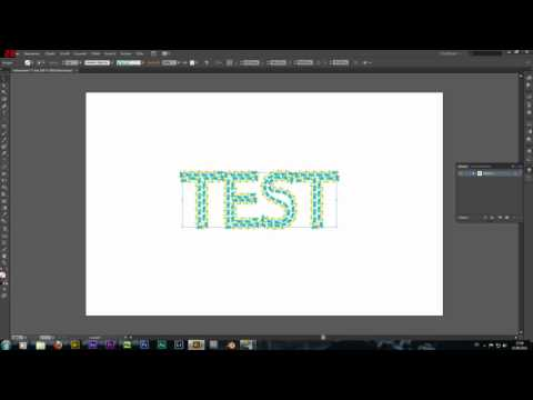 Tutorial Illustrator CS6 Text in Pfade und Kontur