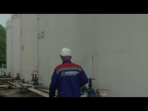 Применение на нефтебазе газоанализатора СИГМА-03 с новым корпусом датчика ДВ (бензин)