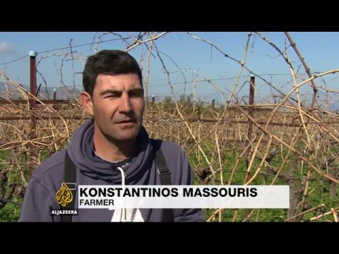 Greek farmers protest over austerity plans