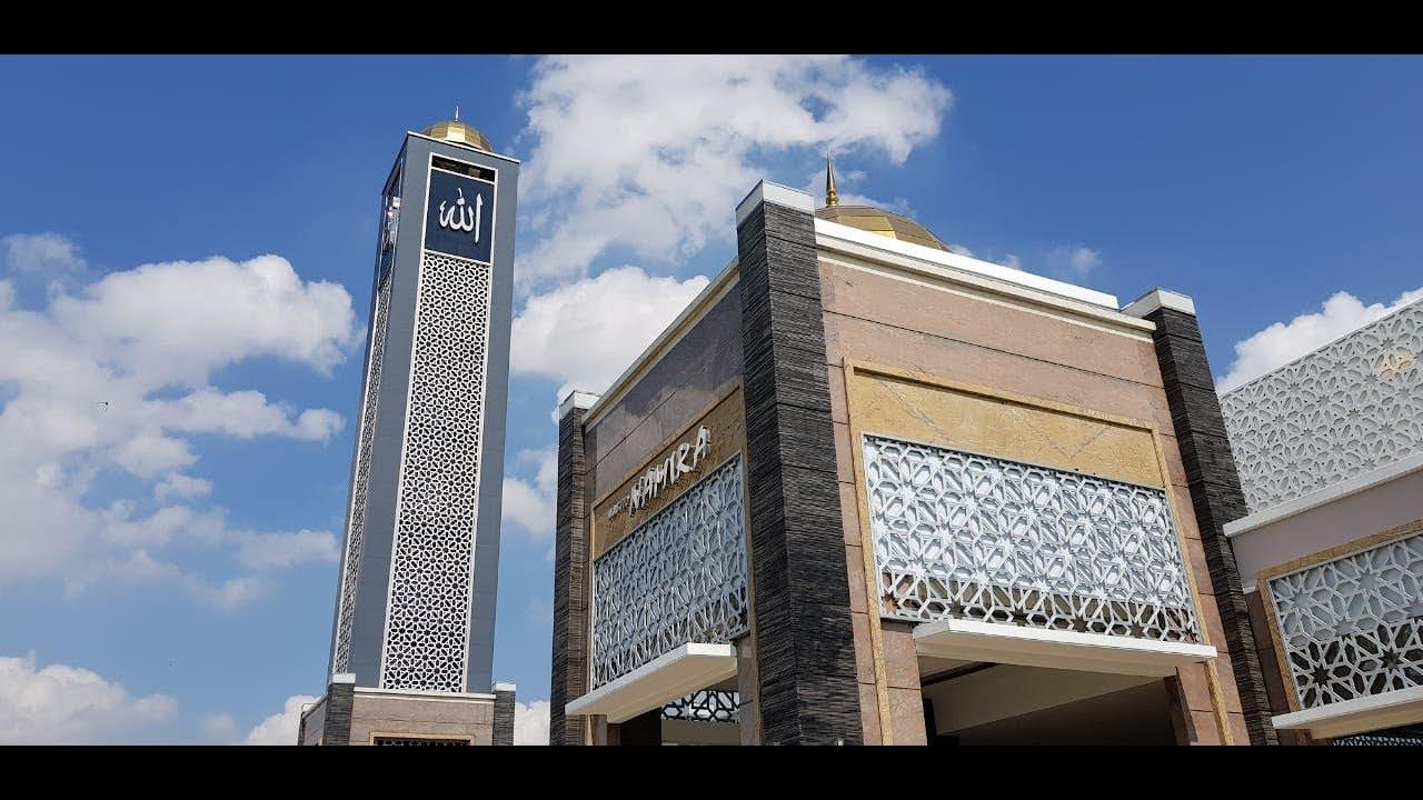 Video Masjid Namira Di Lamongan Ramai Pemudik