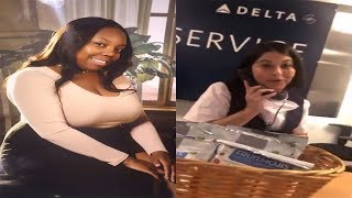 Delta Employee With Ugly Attitude Refused To Give Manager