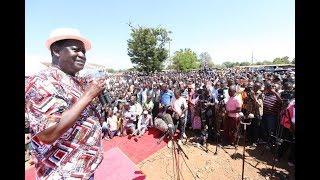Raila Odinga provides rare clue into the Handshake Initiative