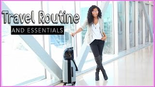 MY TRAVEL ROUTINE + Packing Essentials! | ad