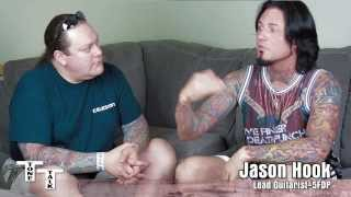 Jason Hook Five Finger Death Punch Interview W Trace Davis Of Voodoo Amps Part 2 Of 3