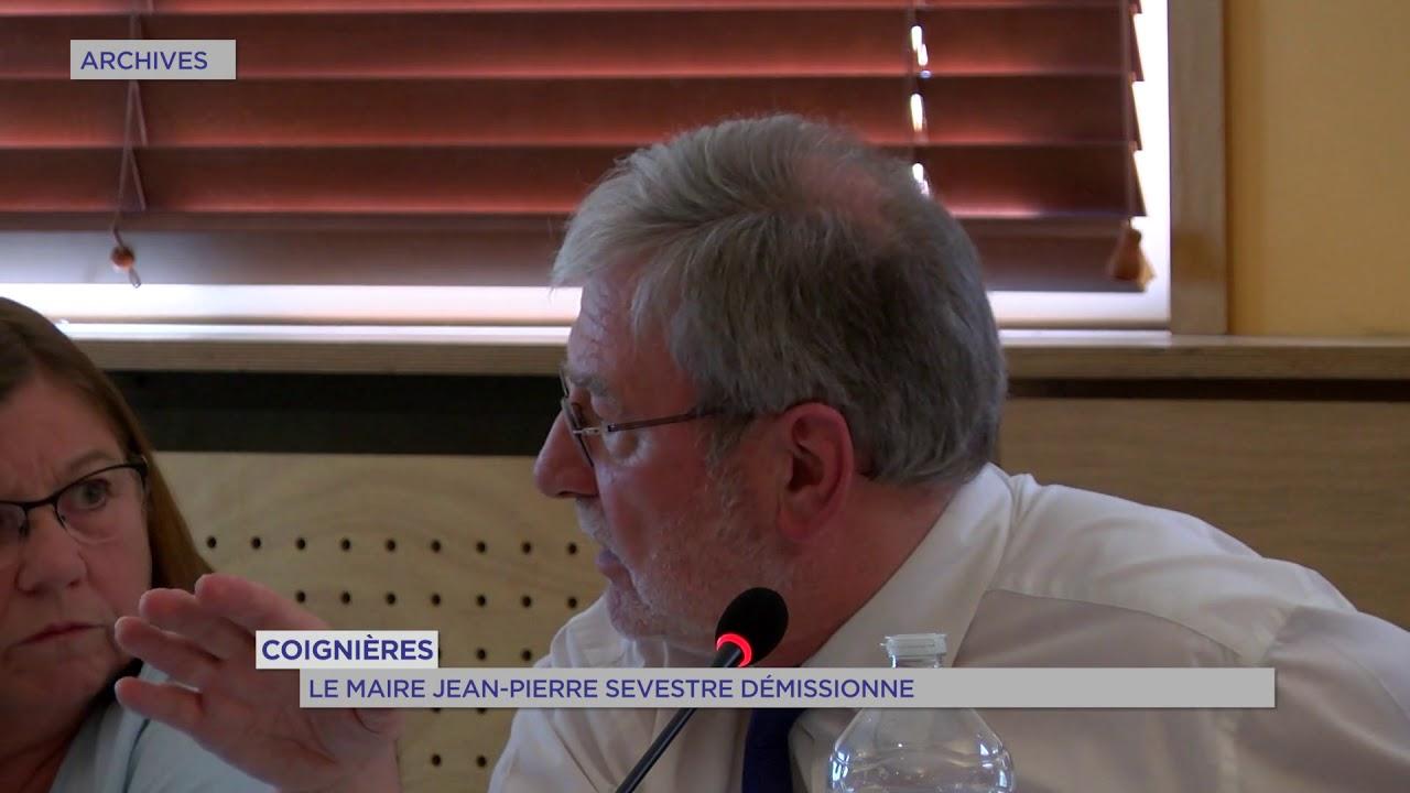Coignières : Le maire Jean-Pierre Sevestre démissionne