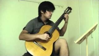 "Yoshifumi Asao plays ""COIN"" composed by Masaoyoshi Yamazaki, Arranged by Michiwo Tashima. 山崎まさよしさんの「コイン」を、クラシックギターソロで演奏しま ..."