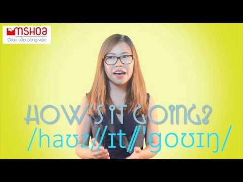 Cách chào hỏi trong Tiếng Anh Giao tiếp