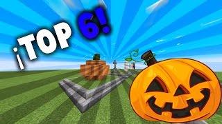 ¡TOP 6 DECORACIONES PARA HALLOWEEN EN MINECRAFT! | ¡Feliz Halloween! | Mapa + Download | Lalito 09