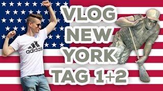 New York VLOG deutsch | german | 🇺🇸 Tag 1+2 | KRASSE EINDRÜCKE | MatinDeepunkt