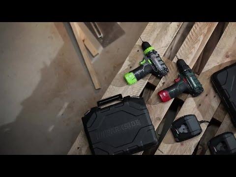 produktvideo parkside akku bohrschrauber pabs 12 b2 lidl lohnt sich. Black Bedroom Furniture Sets. Home Design Ideas
