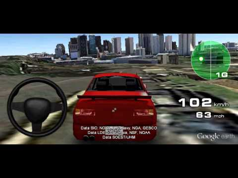 3d Driving Simulator Google Earth Youtube