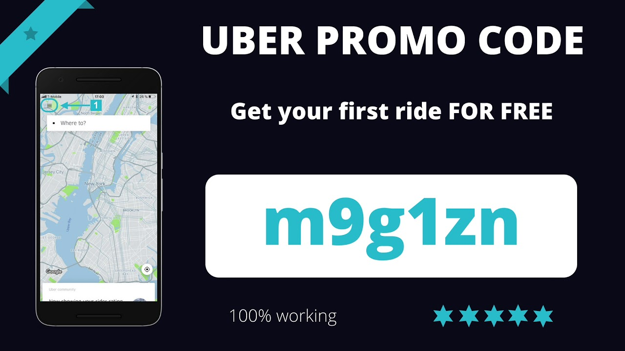 Uber Promo Code 2019 Free Credit For Your First Ride 100 Working Youtube