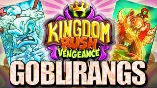 BUMERANGI SĄ MEGA || GOBLIRANGS || #009 | Kingdom Rush Vengeance | PL