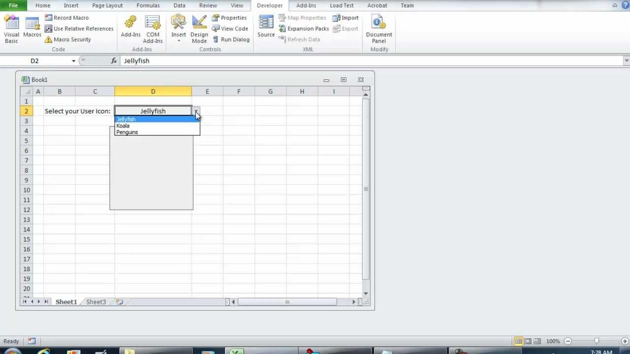 VBA Excel - Change Image Control using Data Validation Worksheet Change