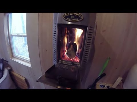 Dickinson solid fuel stove, how it works.