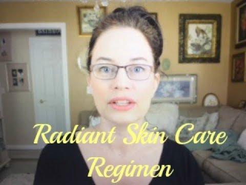 Summer Morning Anti-Aging Over Forty Beauty Skin Care Routine for Radiant Youthful Skin